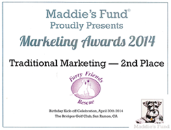 2014 Maddie's Fund Marketing Award