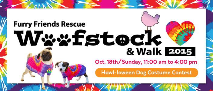 FFR Woofstock 2015 & Walk, Howl-loween Dog Costume Contest